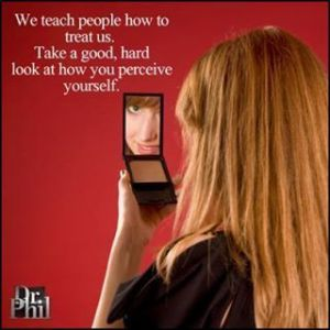 perceive yourself