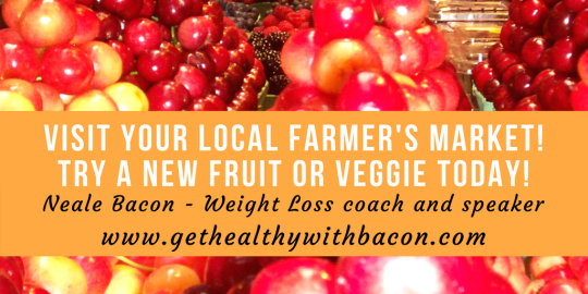 visit your local farmer's market!